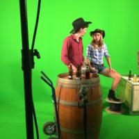 TOURNAGE clip buddies STUDIO TOURNAGE PRISES DE VUE ATLANTA TOULOUSE