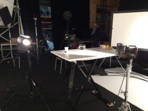 Tounage documentaire homo spatius cite de l'espace studio prises de vue