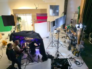 Tournage Aderma Pierre Fabre Dermo Cosmétiques Triaxe au Studio Atlanta
