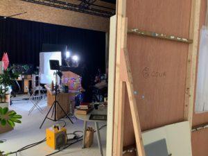 décor bois pour tournage toulouse